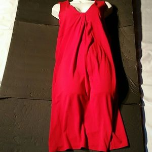 Loft Red Dress. 10